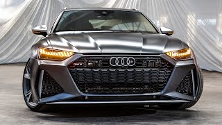 REVEAL! 2020 AUDI RS6 AVANT - MOST ANTICIPATED CAR OF THE YEAR! - 600HP/800NM V8 TWINTURBO