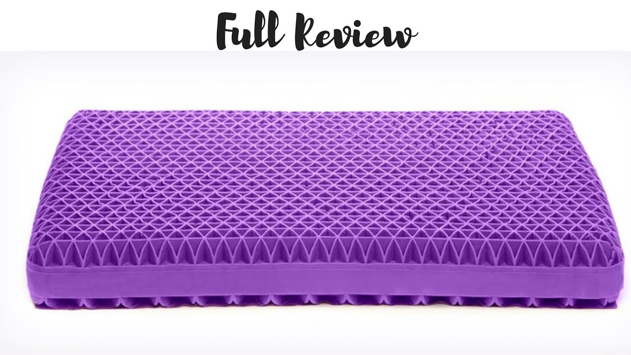 Purple Pillow Full Review What It Did To My Eyes Youtube
