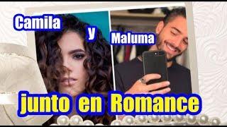 Juntos,Maluma y camila la  hija de Alejandro Fernández