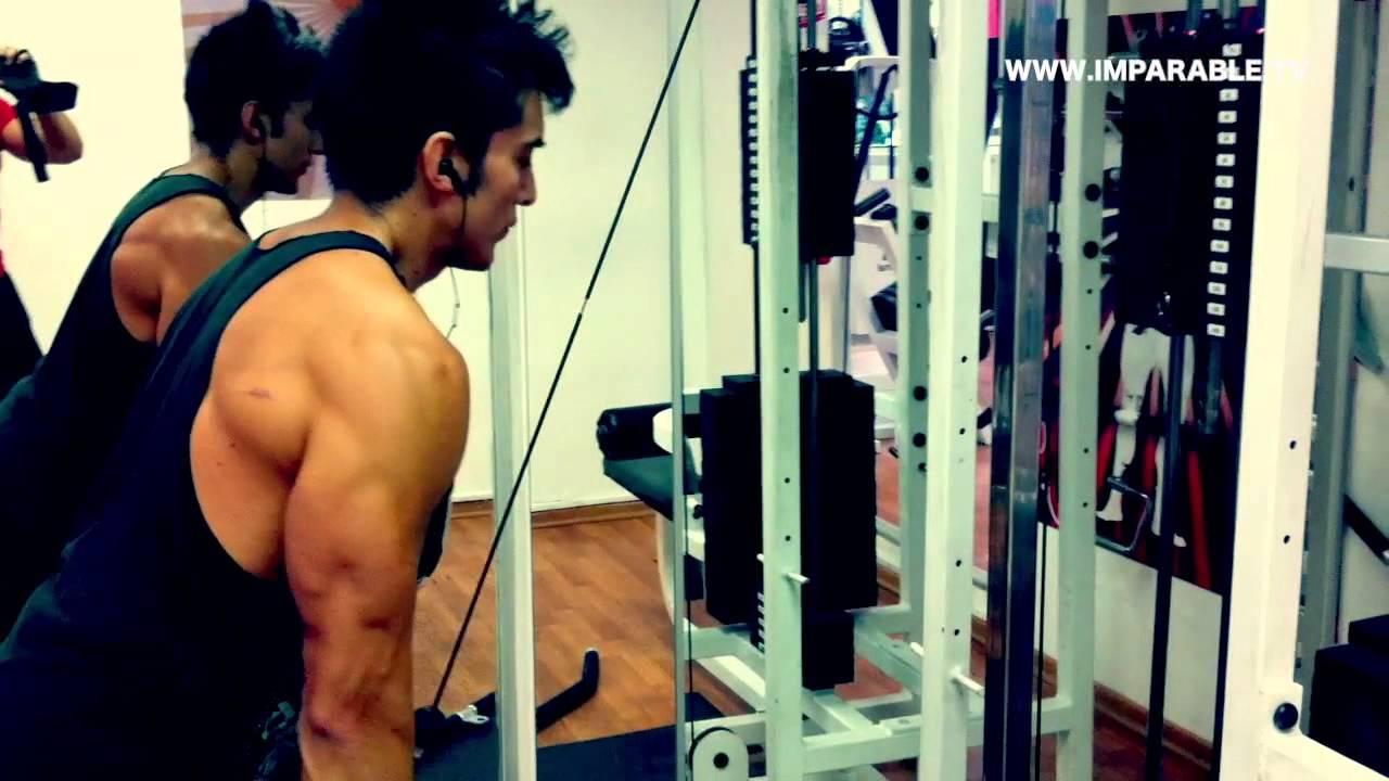 Rutina de Espalda y Biceps con Gero - www.imparable.tv
