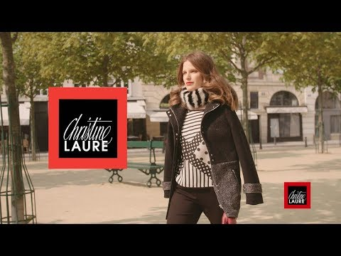 Collection Christine Laure : Automne/Hiver 2017-2018 Mode Femme  - Teaser 2