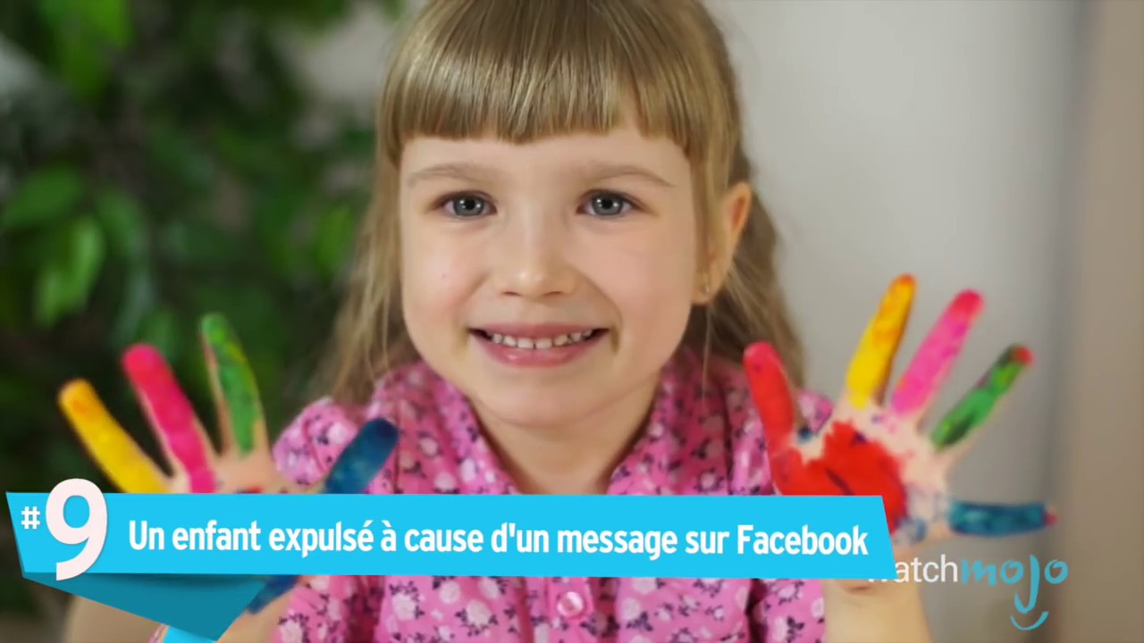 Top 10 Enfants RENVOYÉS de l'école pour des RAISONS STUPIDES !