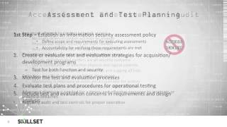 Security Assessment Goals (CISSP Free by Skillset.com)