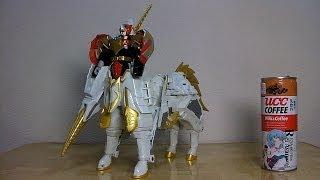 マジレンジャー 4号ロボット セイントカイザー 玩具toy power rangers mystic force thumbnail