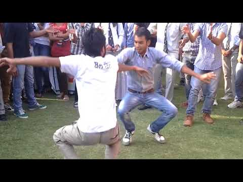 poornima college student dance OAT on yaar bolda punjabi song aarohan 2k14