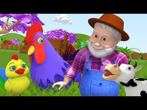 Old Mac Donald Had A Farm | Song for Children | Kindergarten Nursery Rhymes
