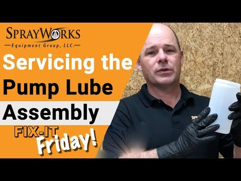 Fix-It Friday! Servicing Pump Lube Assembly with DOP