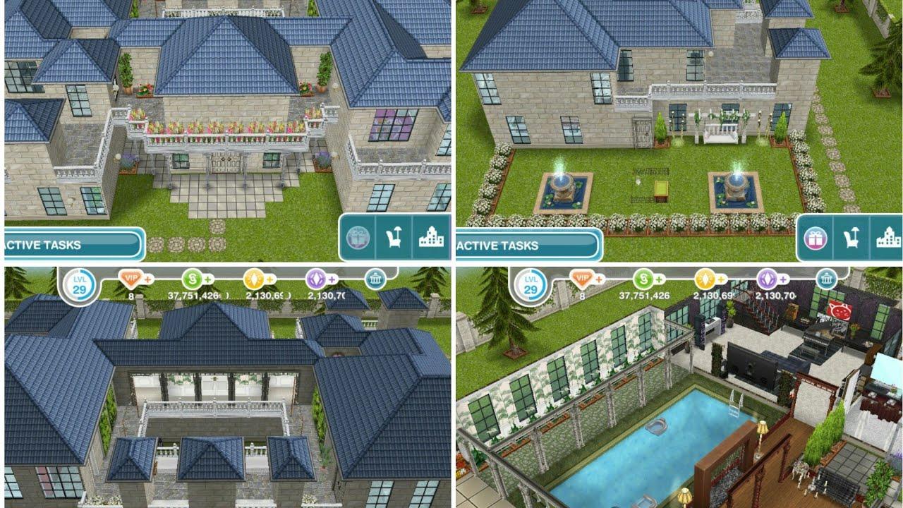 Kolam Renang Di Dalam Rumah House Design The Sims