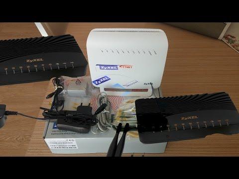 ZyXEL VMG3312 B10B Kablosuz N ADSL2+/ VDSL2--4 Port USB Modem Router Unboxing/TTNET ZyXEL