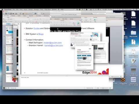 X86 User Group - IBM VDI with Atlantis - 05.29.2014