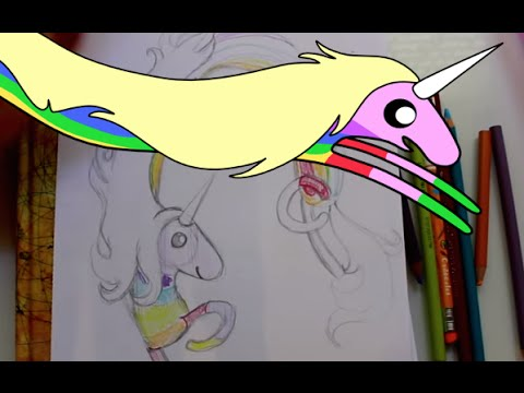 How To Draw Lady Rainicorn From Adventure Time