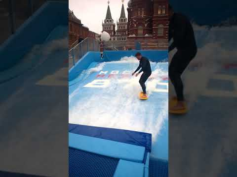 Amazing Water Skating | Europe Moscow