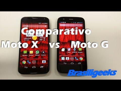 Moto G vs Moto X