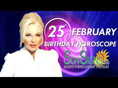 Birthday February 25th Horoscope Personality Zodiac Sign Pisces Astrology