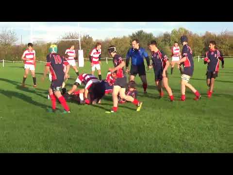 U16 A Rugby highlights v Lboro -  Sat 4th Nov 2017
