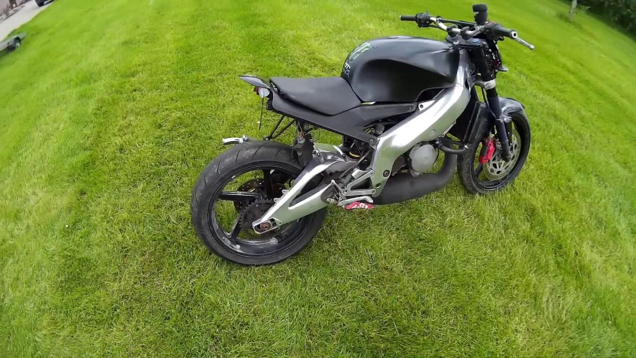 Rs125 Project 2 Street Fighterratcustom Bike Build
