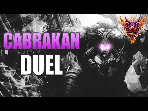 SMITE: Cabrakan Duel Gameplay | Masters Ranked | The Tremble!