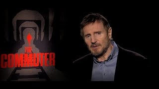Liam Neeson and cast talk The Commuter