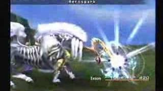 Final Fantasy X - Ixion - Aerospark & Thor