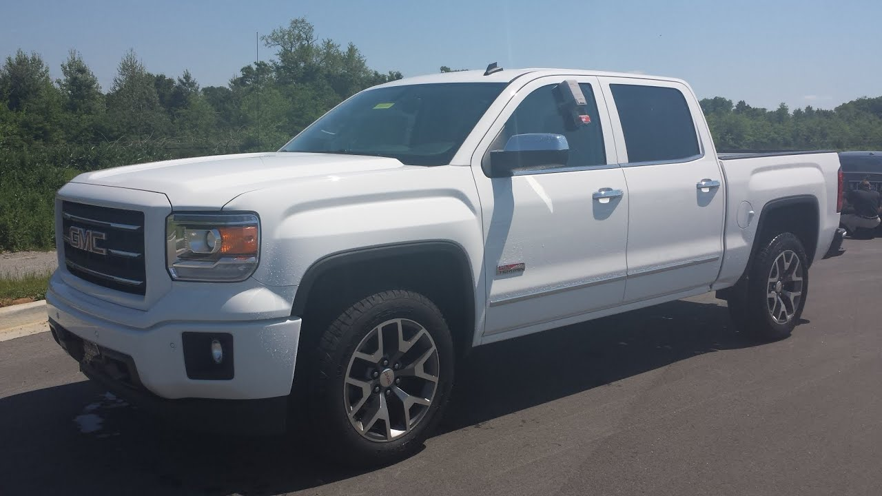 Sold 2014 Gmc Sierra Slt All Terrain 6 2l Ecotec Summit White For