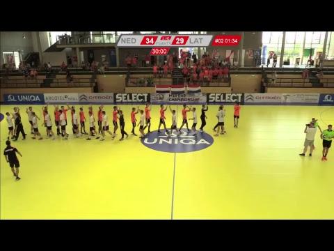 16.08.2018 | 12:30 | M18 EHF | B | Netherlands - Latvia