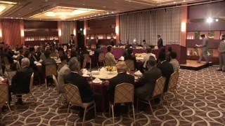 Hilton Hotel, Tokyo - Japan: Special Reception in honour of Khalifa Of Islam