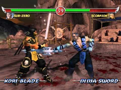 Mortal Kombat - Deadly Alliance, скачать игру с эмулятором Game Boy Advance (GBA, Гейм Бой), буква m