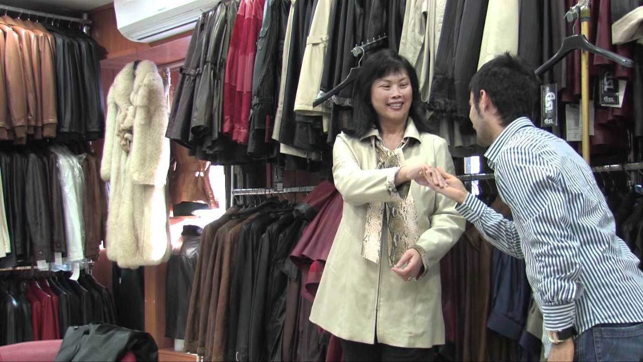How to buy a leather jacket in Turkey - YouTube