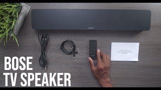 Bose TV Speaker - With Sound Demo! (2020 Model)