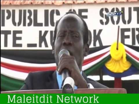 South Sudan VP James Wani Igga