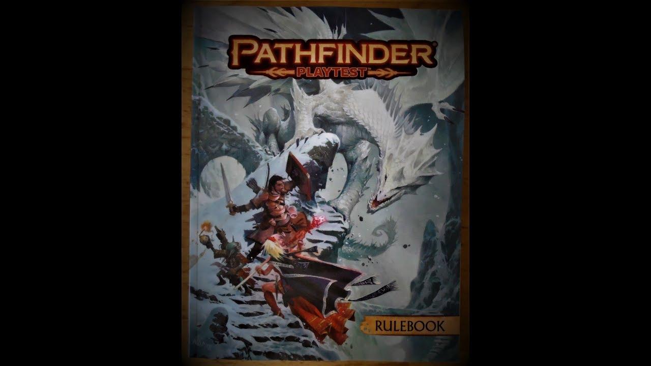 Pathfinder Playtest - cinemapichollu