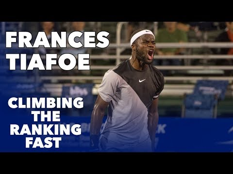FRANCES TIAFOE • PRACTICE AND SLOW MOTION (HD)