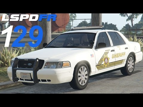 GTA 5 LSPDFR SP #129 San Bernardino County...
