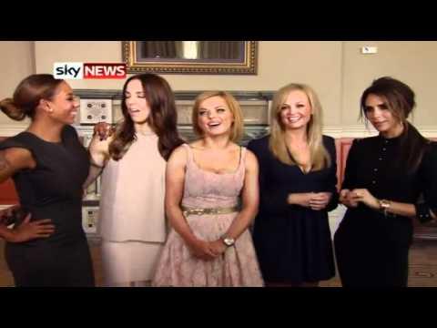 Spice Girls - Sky News interview (26/06/2012) - spicegirlsforever.it Mp3
