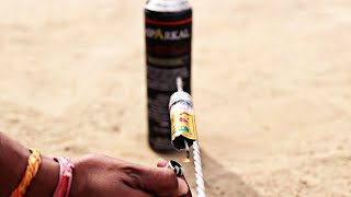 Rocket Powered Nail - Experiment