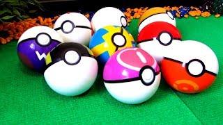 Видео про покемонов. Распаковка покебола. Обзор игрушек Pokemon Go