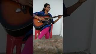 Gambar cover #Kisi ki muskurahaton pe ho nisar #Rajkapoor #Anari #Mukesh #GuitarCover #SaloniJain