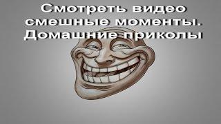 Смотреть видео смешные моменты. Домашние приколы