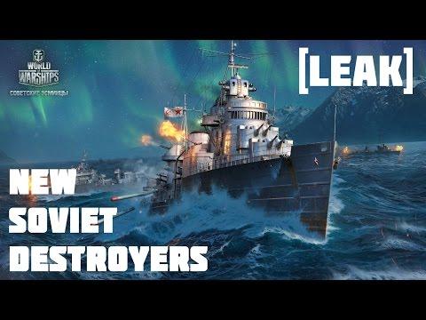 [LEAK] NEW USSR Destroyer Line! | World of Warships
