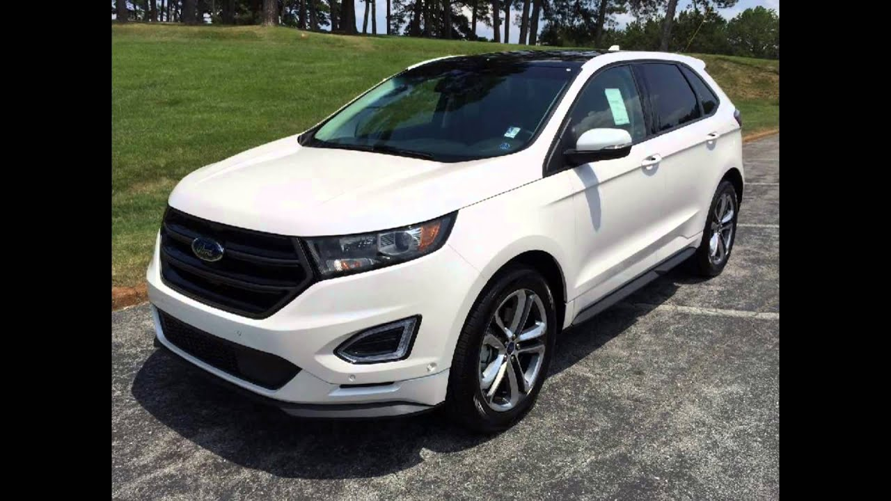 Ford Edge White Platinum
