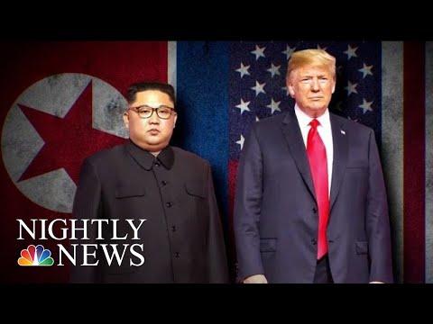 President Donald Trump, Kim Jong-Un Sign Agreement In Historic Meeting | NBC Nightly News