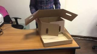 Как собрать архивный короб с откидной крышкой(В этой инструкции вы узнаете, как собрать архивный короб с откидной крышкой. Подробнее об архивных коробах..., 2015-01-21T10:18:05.000Z)