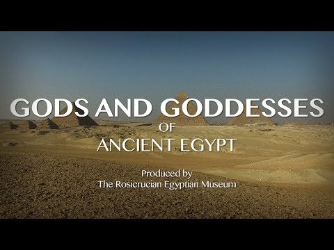 Gods and Goddesses of Ancient Egypt: From our Egyptian Museum to you!
