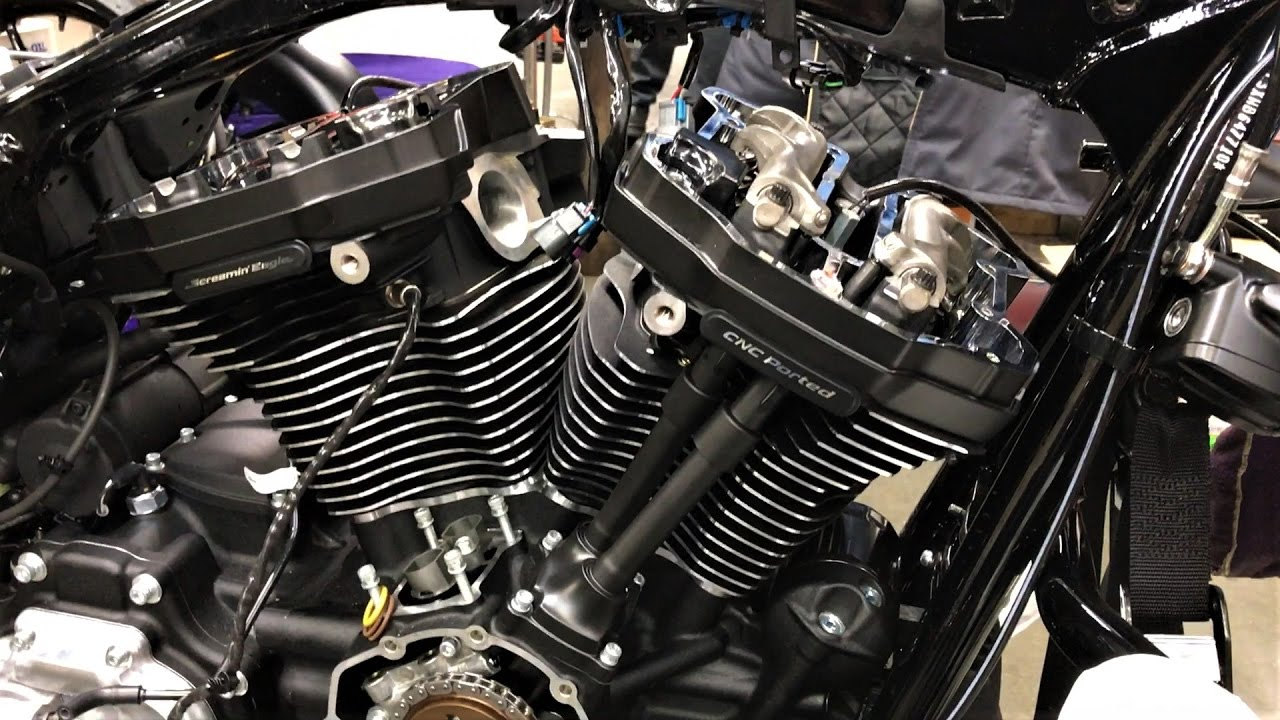 Harley-Davidson Stage 4 Milwaukee Eight Performance Upgrade │Details on