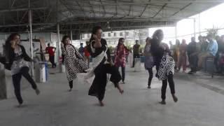 flashmob dance rag day gub 2016