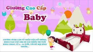 NỆM KIM CƯƠNG - GIƯỜNG CAO CẤP BABY (em bé Trai - Gái)