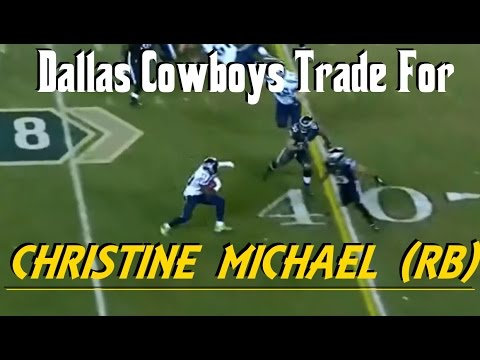 Did The Dallas Cowboys Find Their Next SuperStar Running Back With Christine Michael From Seattle?