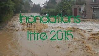 Inondations Ittre 2014
