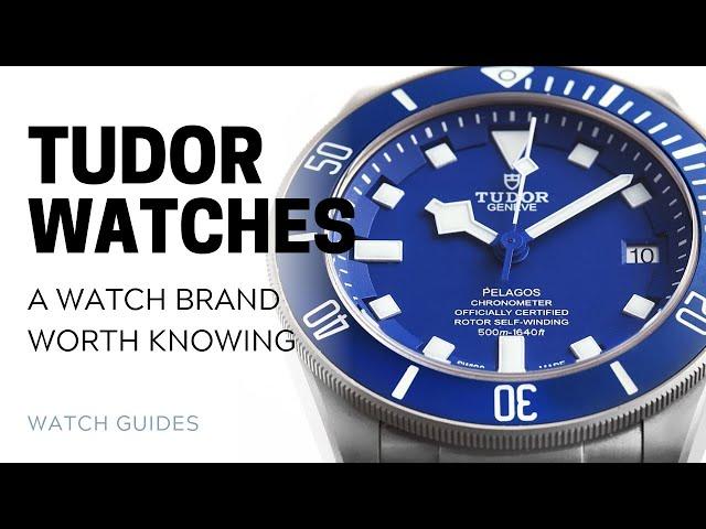 Tudor: The Watch Brand Worth Knowing | SwissWatchExpo