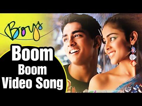 Boom Boom Song Lyrics - Boys Tamil Movie | Siddharth | Adnan Sami | AR Rahman | Shankar
